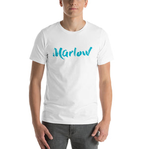 Marlow Brush Tee (Teal Font)