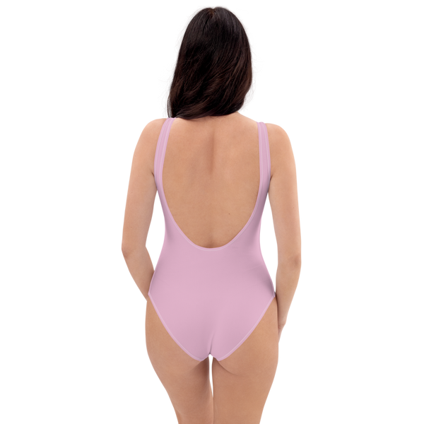 Sweet Lilac One-Piece Swimsuit
