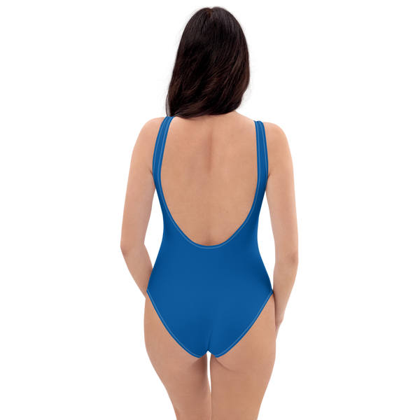 Princess Blue One-Piece Swimsuit