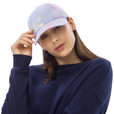 Marlow Crown Logo Tie Dye Hat