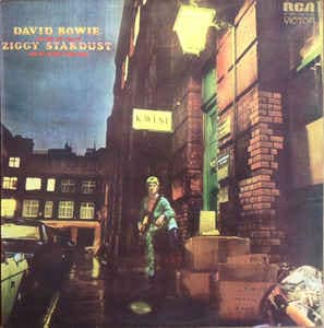Albums That Shaped Me: 2. David Bowie - Ziggy Stardust And The Spiders From Mars