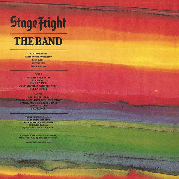 The Band - Stage Fright 2CD/LP
