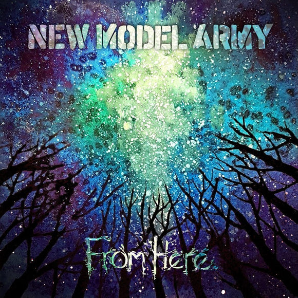 New Model Army - From Here 2LP