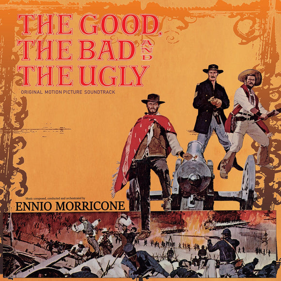 Ennio Morricone - The Good, The Bad And The Ugly LP