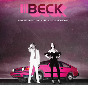 Beck & St. Vincent - No Distraction / Uneventful Days 7""