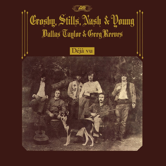 Crosby, Stills, Nash and Young - Déjà Vu 4CD+LP