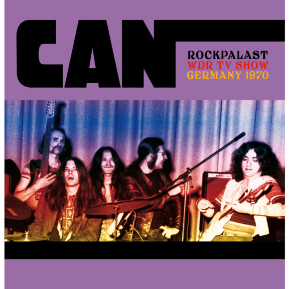 Can - Rockpalast, WDR TV Show, Germany 1970 2LP