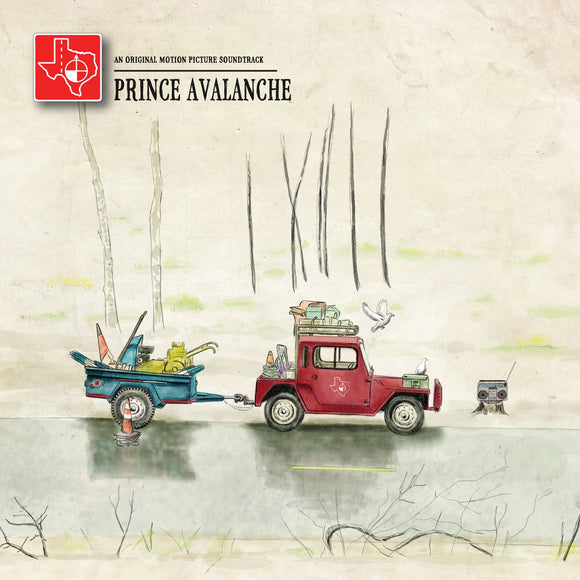 Explosions In The Sky & David Wingo ‎- Prince Avalanche: An Original Motion Picture Soundtrack CD