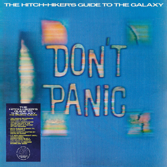 Douglas Adams - The Hitchhiker's Guide To The Galaxy: The Original Albums LP
