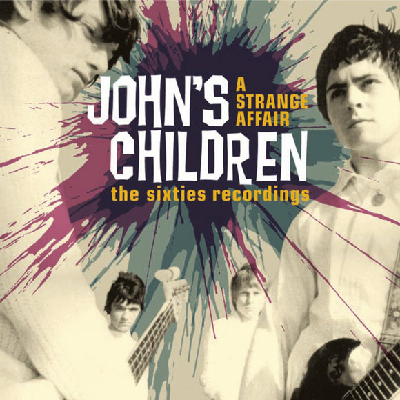 John's Children - A Strange Affair 2CD