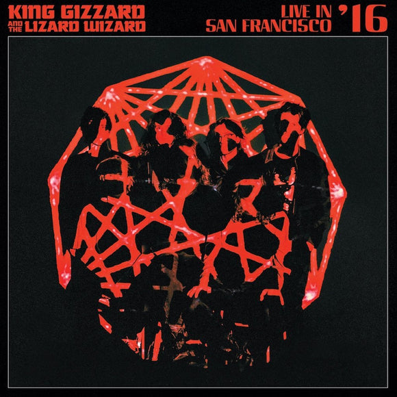 King Gizzard And The Lizard Wizard - Live In San Franciso '16 2CD/2LP