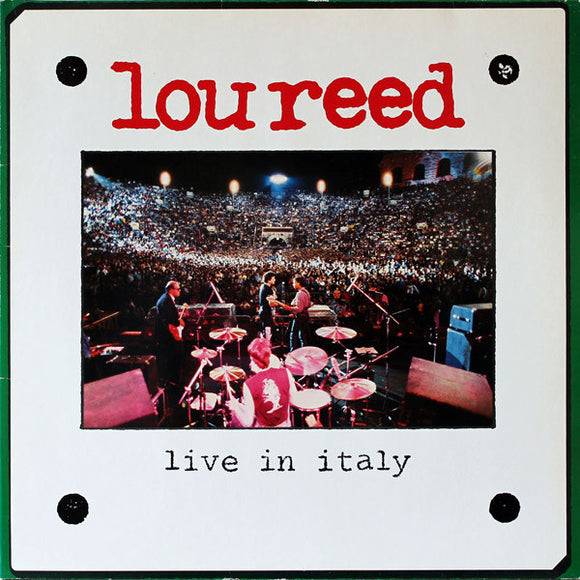 Lou Reed - Live In Italy 2LP