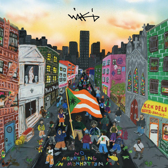 Wiki - No Mountains In Manhattan LP
