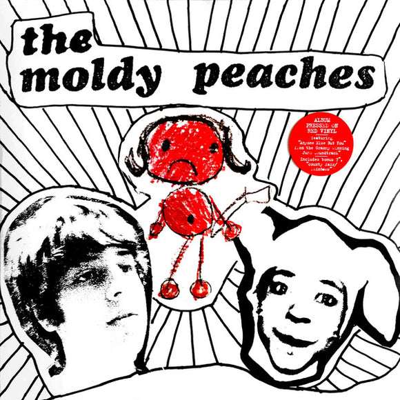 The Moldy Peaches ‎- The Moldy Peaches LP