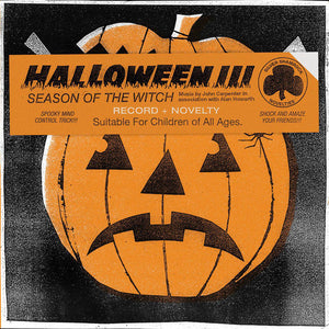John Carpenter and Alan Howarth - Halloween III: Season Of The Witch LP