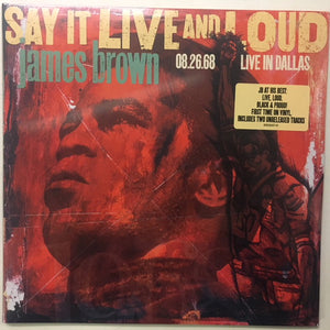 James Brown - Say It Live And Loud 2LP