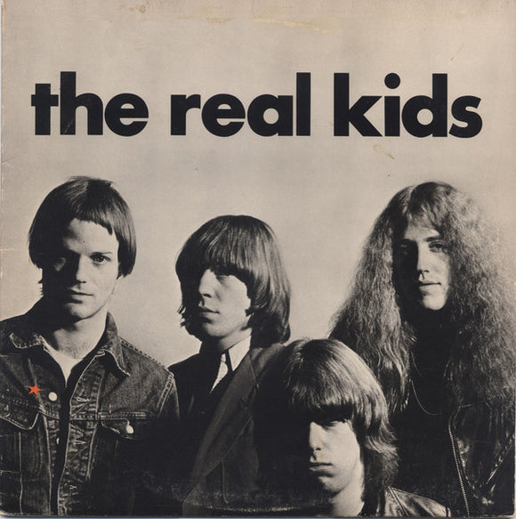 The Real Kids ‎- The Real Kids LP
