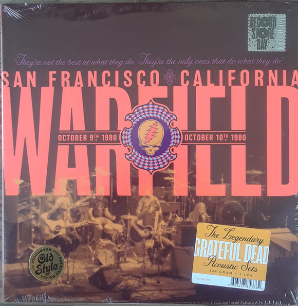 Grateful Dead - The Warfield, San Francisco, CA 10/9/80 & 10/10/80 2LP