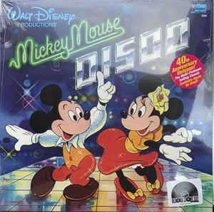 Various Artists - Mickey Mouse Disco LP