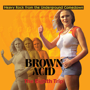 Various Artists - Brown Acid: The Eighth Trip (Heavy Rock From The Underground Comedown) LP