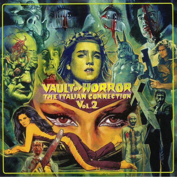 Various Artists - Vault Of Horror: The Italian Connection Vol. 2 2LP