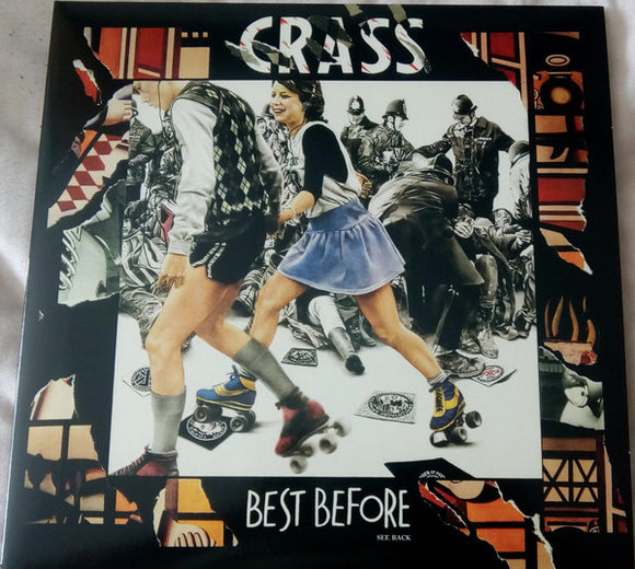 Crass - Best Before...1984 LP