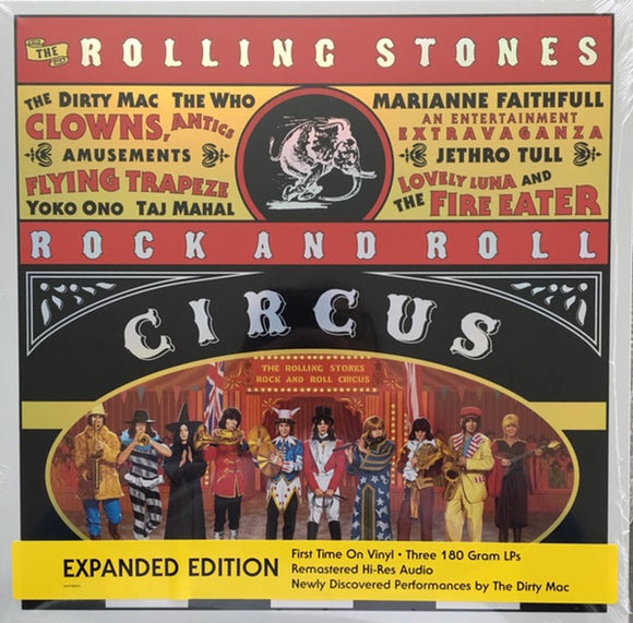 Various Artists - The Rolling Stones Rock And Roll Circus LP