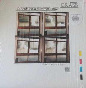Crass - 10 Notes On A Summers Day 12""