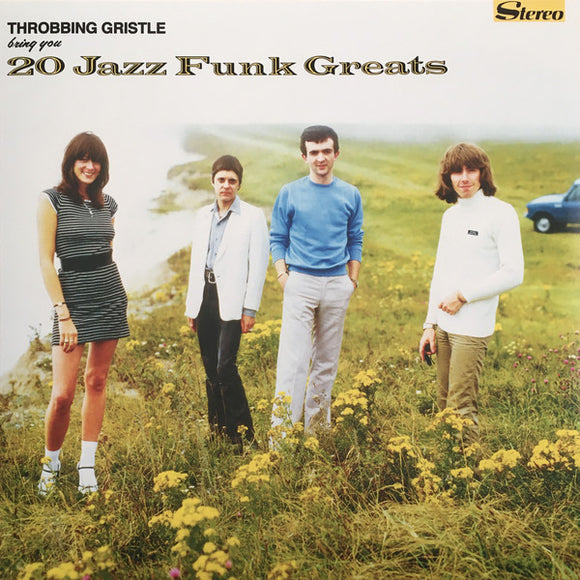 Throbbing Gristle ‎- 20 Jazz Funk Greats LP