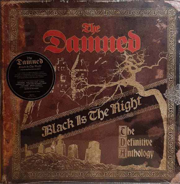 The Damned - Black Is The Night 4LP