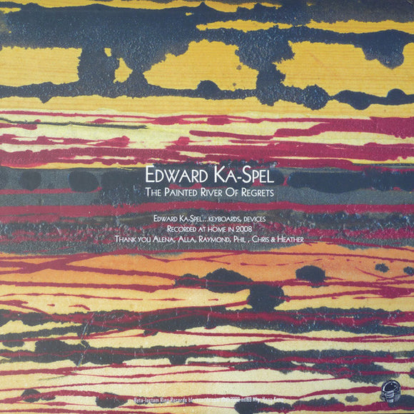 Edward Ka-Spel ‎- The Painted River Of Regrets LP