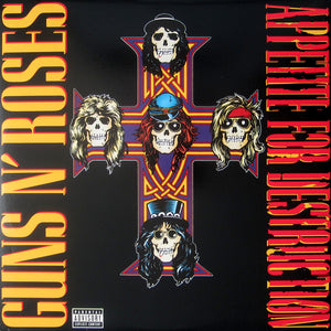 Guns N' Roses - Appetite For Destruction LP