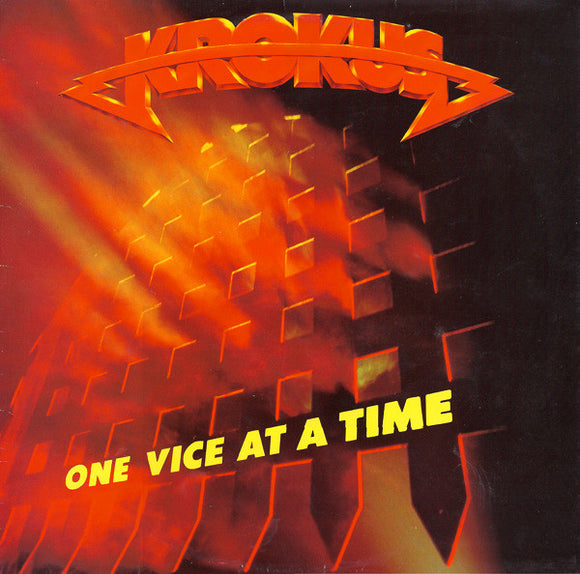 Krokus ‎- One Vice At A Time LP