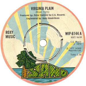 Roxy Music - Virginia Plain 7""