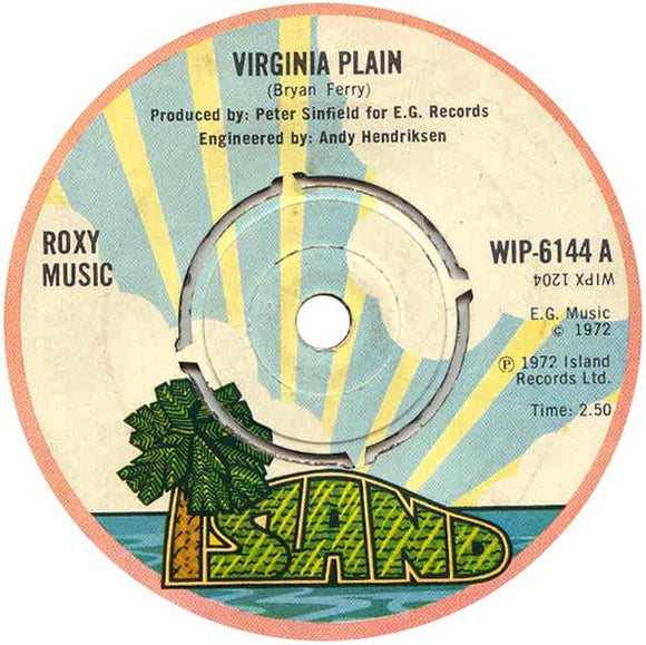Roxy Music - Virginia Plain 7