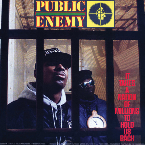 Public Enemy - It Takes A Nation of Millions To Hold Us Back LP