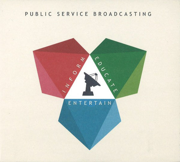 Public Service Broadcasting - Inform - Educate - Entertain LP