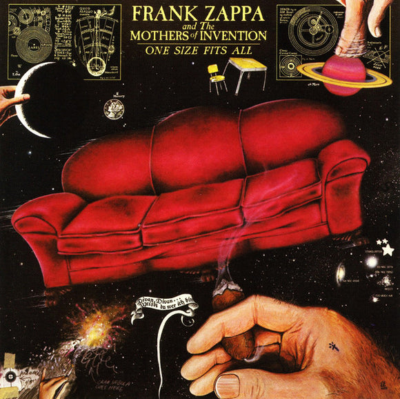 Frank Zappa And The Mothers Of Invention ‎- One Size Fits All LP