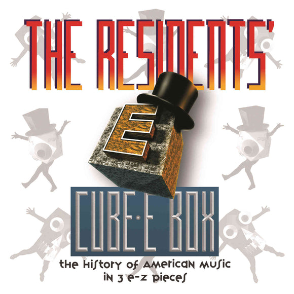 The Residents - Cube-E Box 7CD