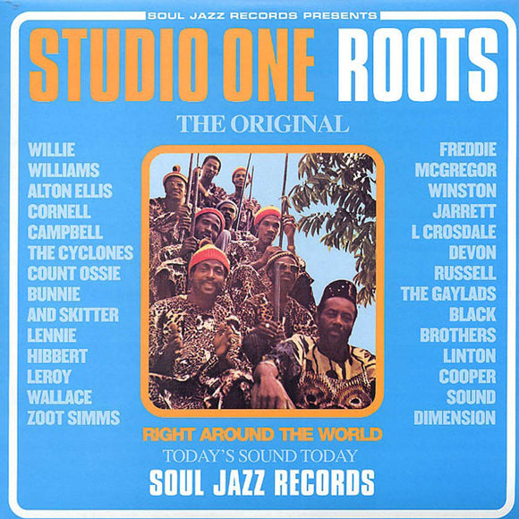Various Artists - Studio One Roots: The Rebel Sound At Studio One 2LP