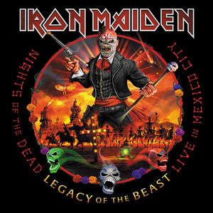 Iron Maiden - Nights Of The Dead, Legacy Of The Beast: Live In Mexico City 2CD/DLX 2CD/3LP