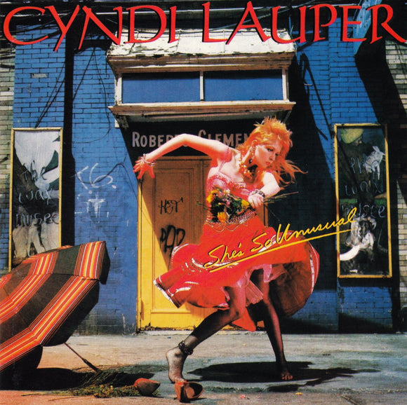 Cyndi Lauper - She's So Unusual LP