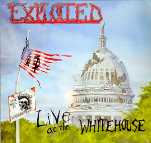 The Exploited - Live At The Whitehouse LP