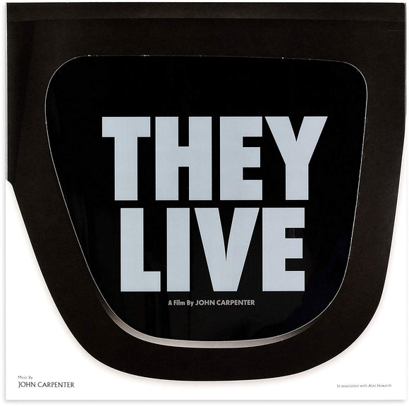 John Carpenter and Alan Howarth - They Live LP