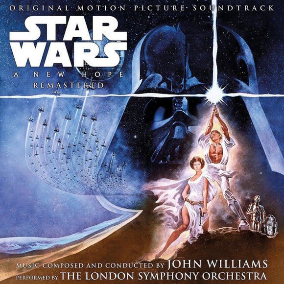 John Williams - Star Wars 'A New Hope' Original Motion Picture Soundtrack 2LP