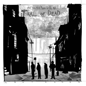 ...And You Will Know Us By The Trail Of Dead ‎- Lost Songs CD