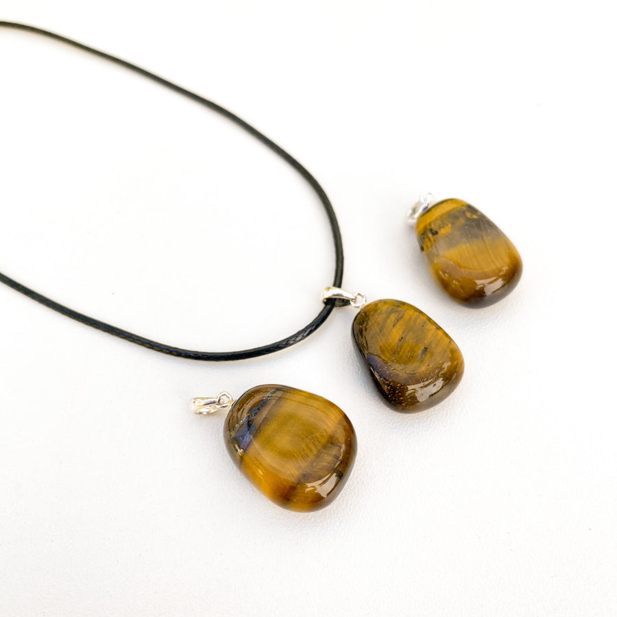 Tigers Eye Pendant (Sterling silver)