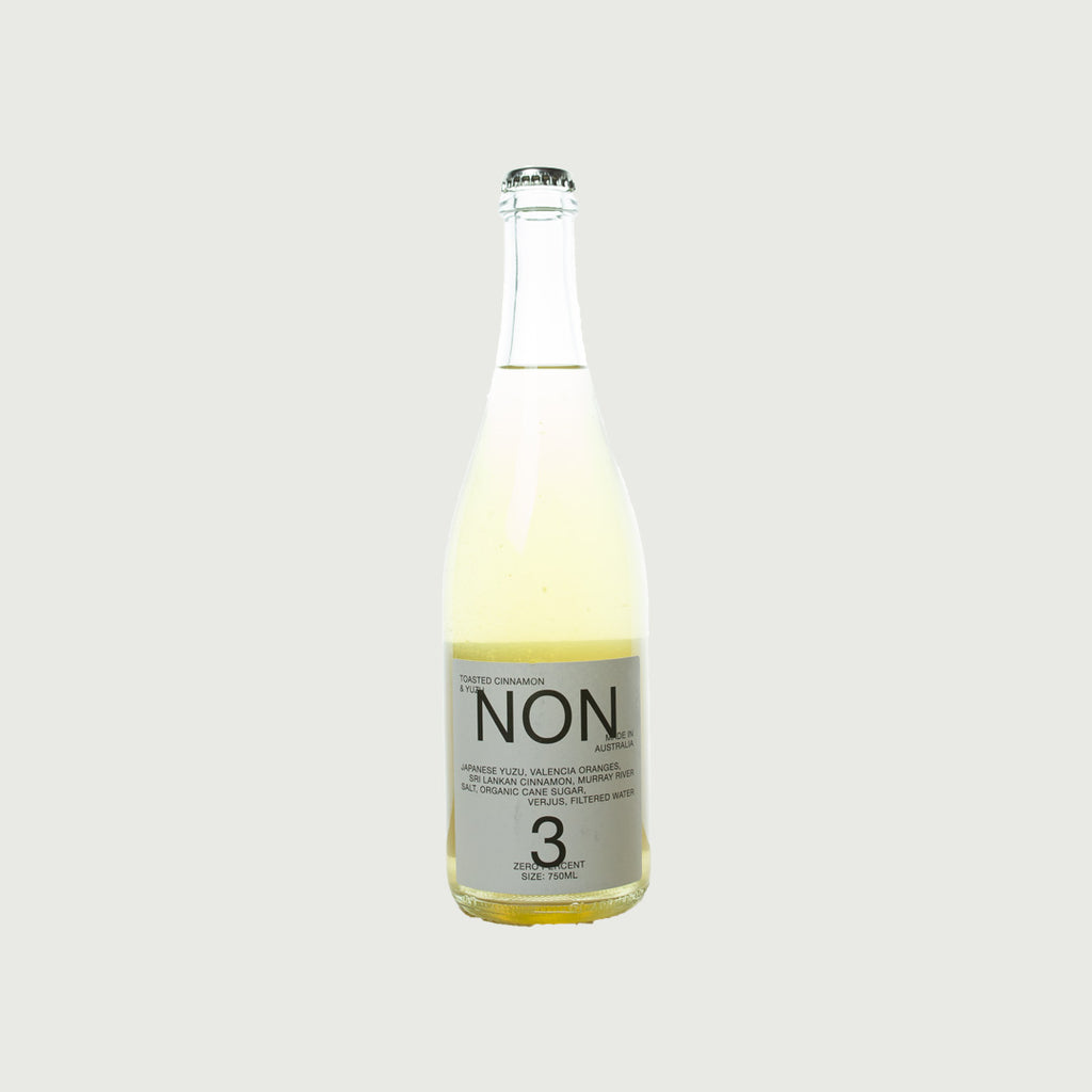 NON - 0% Alcohol No.3 Toasted Cinnamon & Yuzu