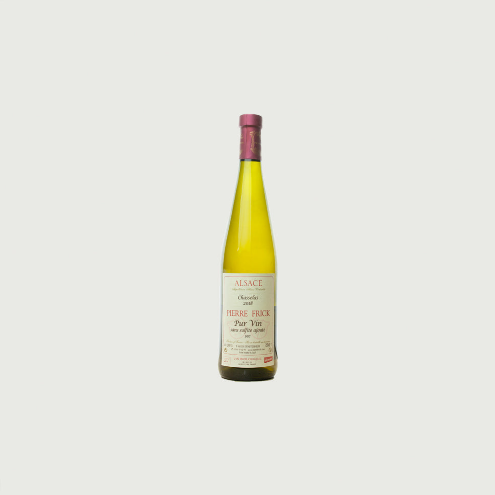 Domaine Pierre Frick - 2018 Chasselas