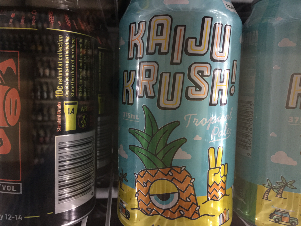 Kaiju Krush - Tropical Ale SINGLE